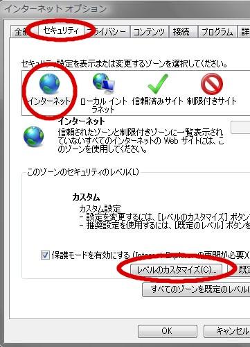 インターネットオプション_セキュリティ_レベルのカスタマイズ